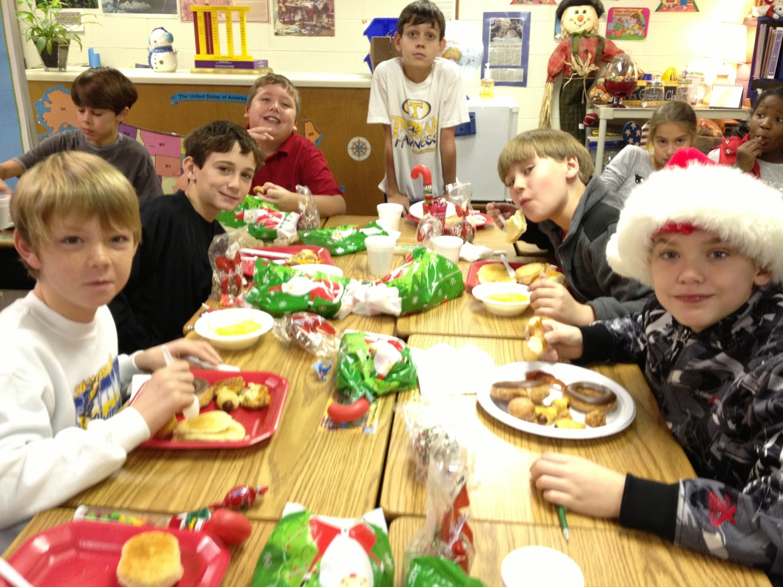 Tsa Fifth Grade And Friends Fun Times At Our Christmas Party